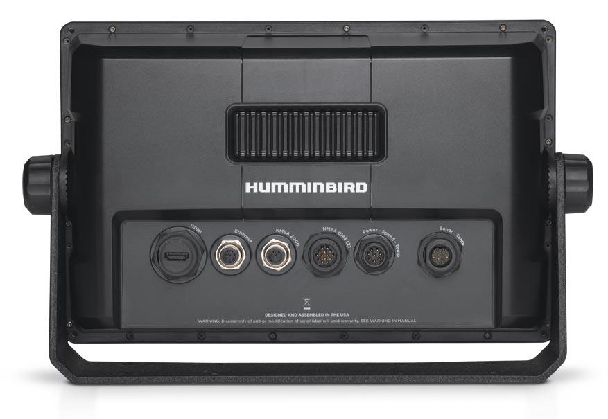 Humminbird Onix Rückseite