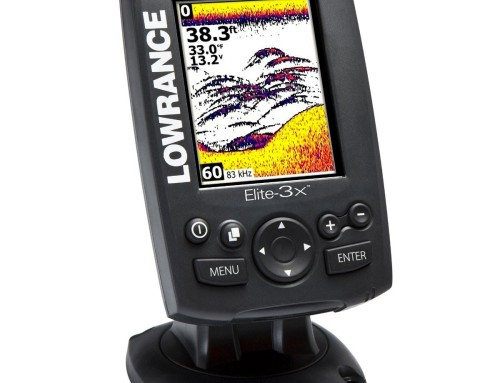 Lowrance Elite-3x ist günstigster Farb-Fischfinder