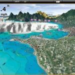 GPS Echolot mit Kartenplotter und Seekarte
