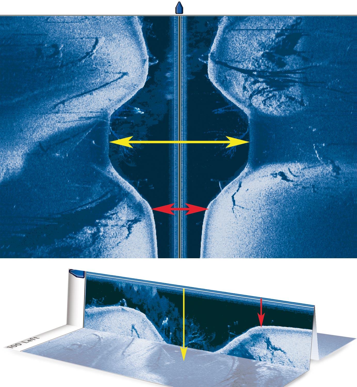 Side Imaging Wassersäule