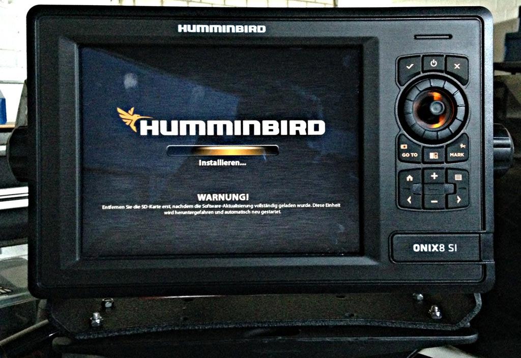 Humminbird Onix Software Update