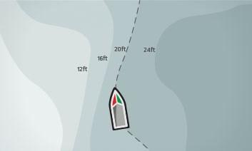 ipilot link follow the contour