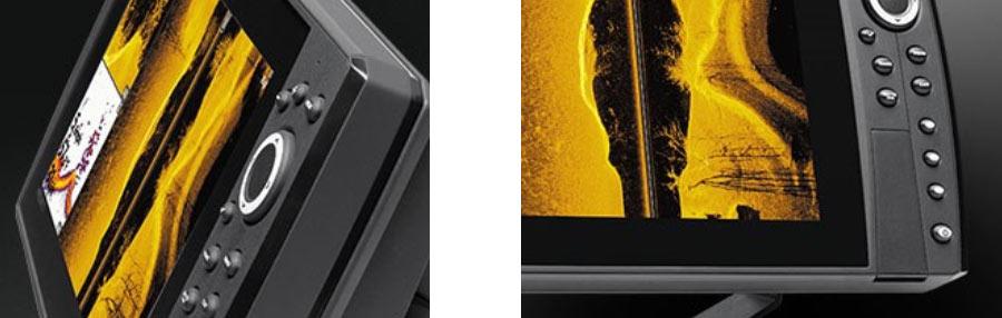 Top Display und modernes Design für die Helix Echolote