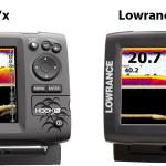 Lowrance HOOK Echolote Vergleich
