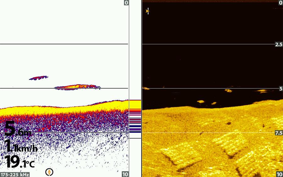 Humminbird down imaging