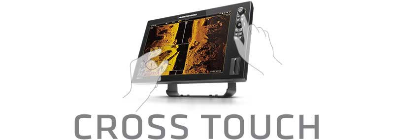 Cross Touch beim Humminbird Solix