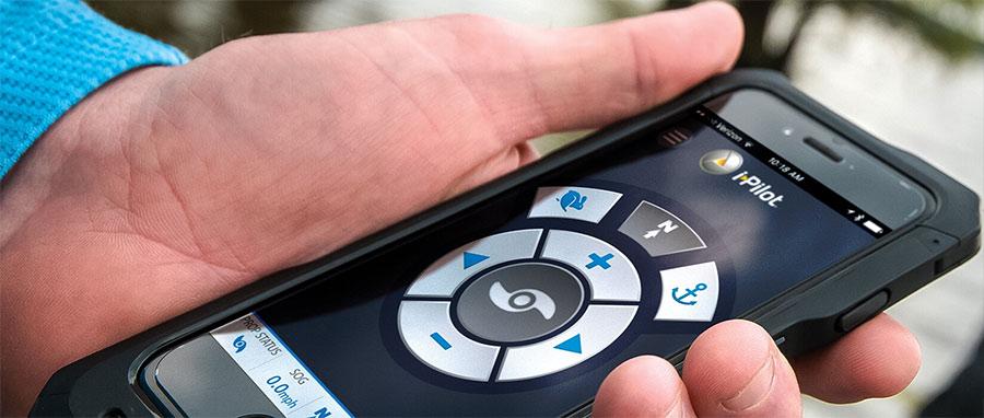 Minn Kota App das neue Interface für alle Bluetooth Modelle