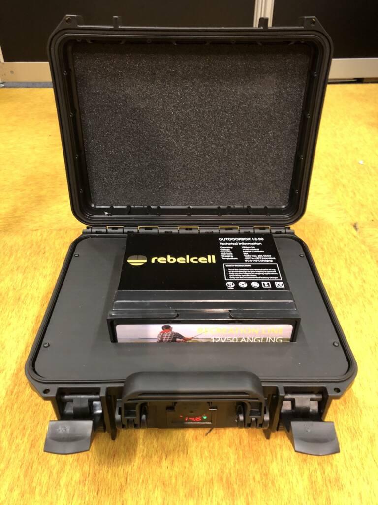 Rebelcell Outdoor Box zum Nachrüsten für Lithium Ionen Akkus