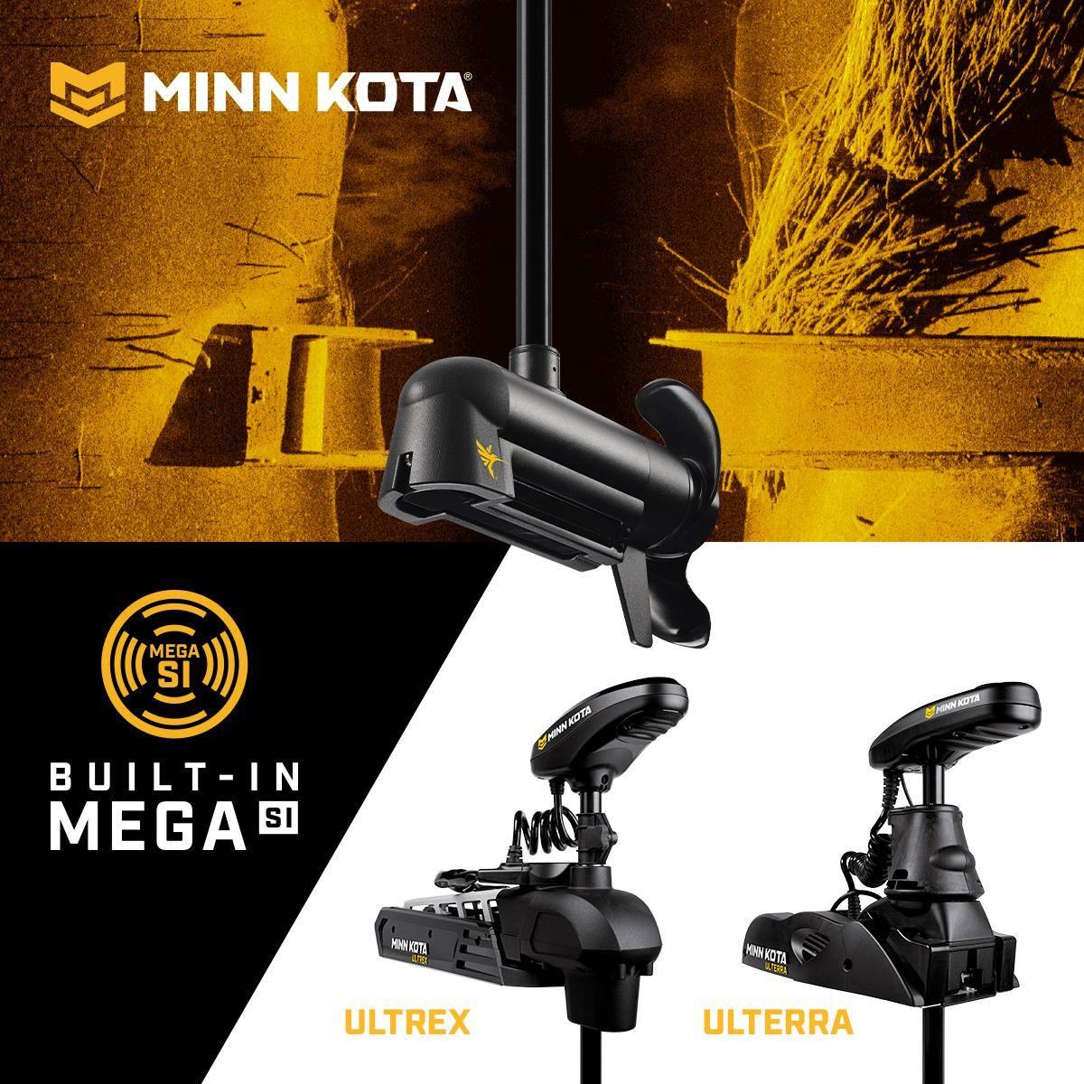 Minn Kota Bugmotoren mit integriertem MEGA Side Imaging von Humminbird