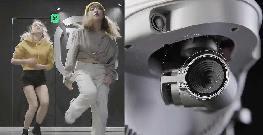 Deep Learning und KI erlauben geniale Bilder mit der PowerEgg X Drohne und ihrer AI Kamera