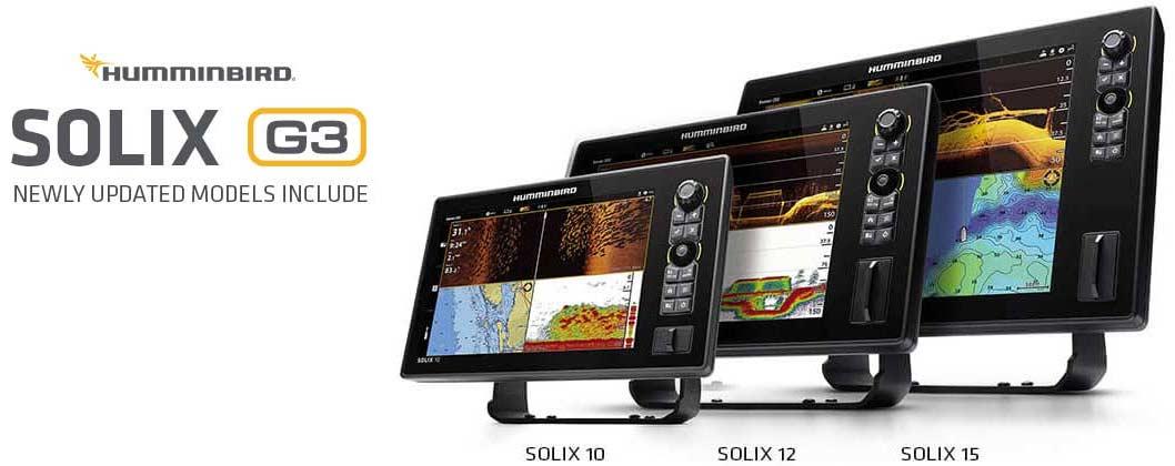 Humminbird Solix G3 Echolote. Ein Überblick über die aktuellen Vorteile aller neuen Modelle.
