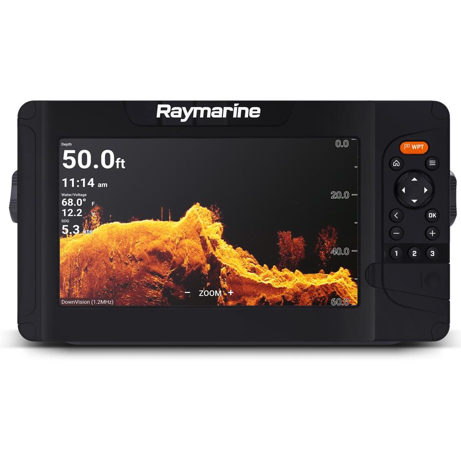Raymarine Element 9 HV mit HV-100 Geber