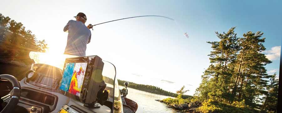 Humminbird SOLIX G2 Echolote sind die leistungsfähigsten Fischfinder, die es derzeit am Markt gibt.