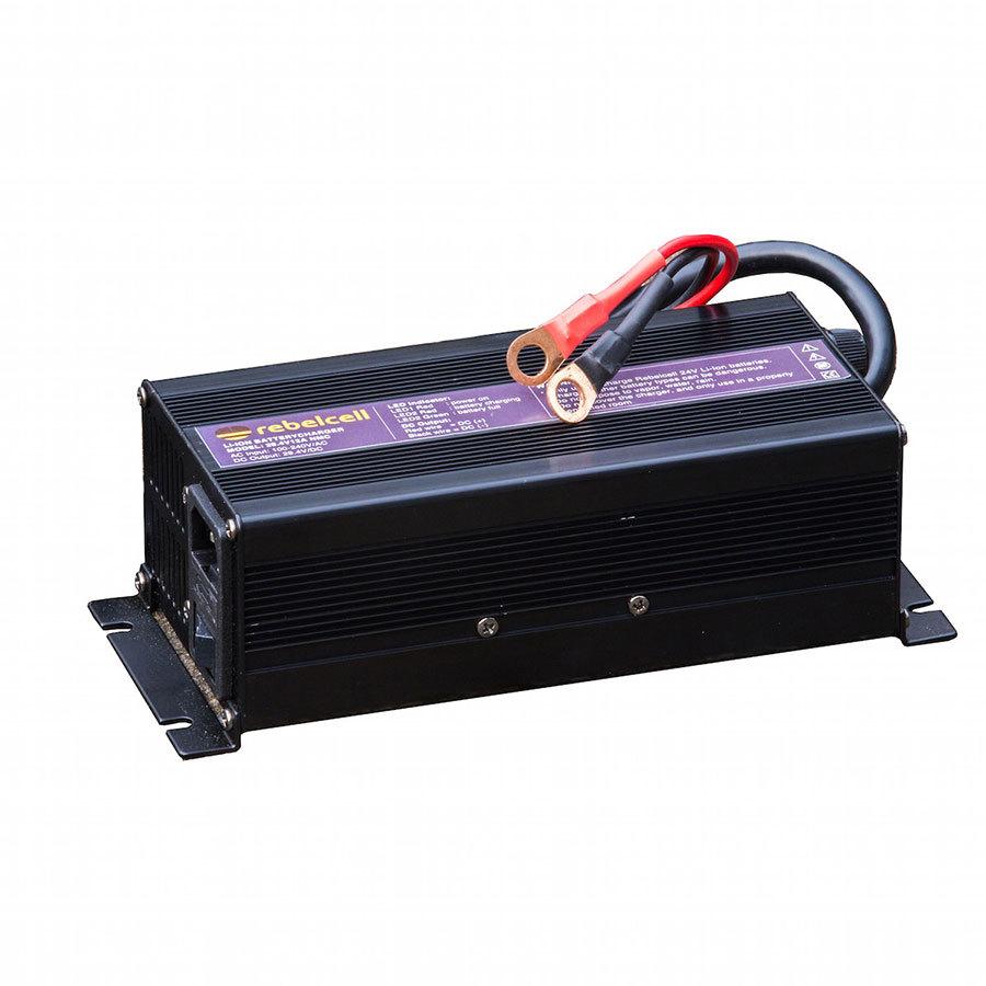 Rebelcell Ladegerät 29.4V12A für Lithium-Ionen-Akkus