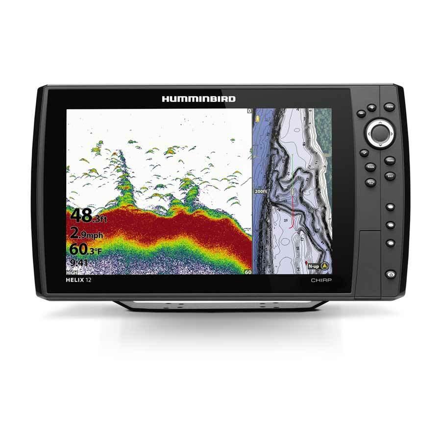Humminbird Helix 12 CHIRP GPS G4N