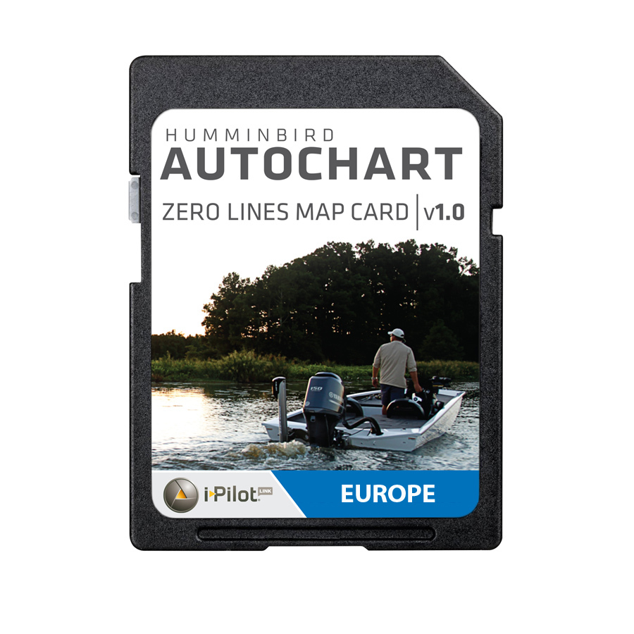 Humminbird AutoChart Zero Line SD-Karte