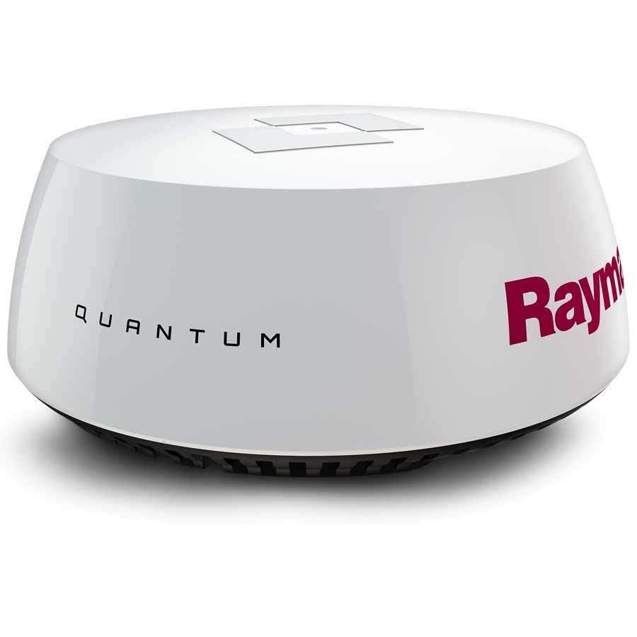 Raymarine Quantum Q24C Radarantenne mit je 10 m Spannungskabel und Datenkabel