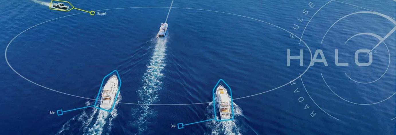 ARPA und Target Tracking sind wichtige Features bei einem Radar für ein Boot.