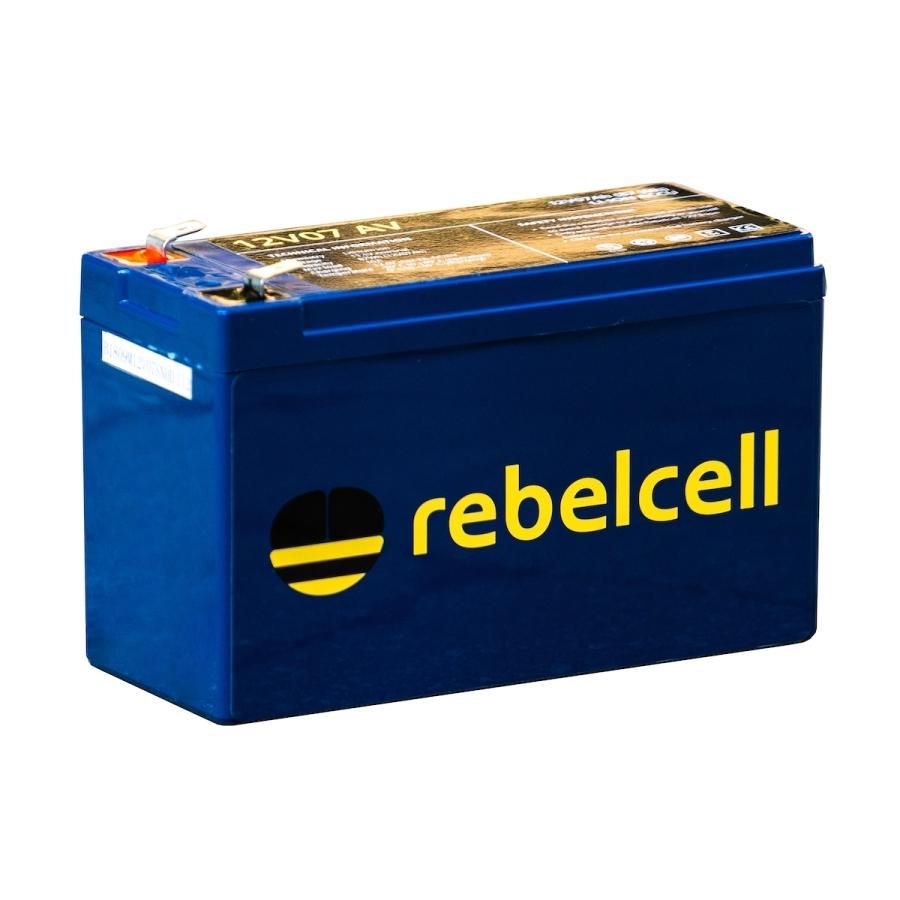 Rebelcell 12V07 AV Lithium-Ionen-Akku für kleine Echolote & Elektrorollen