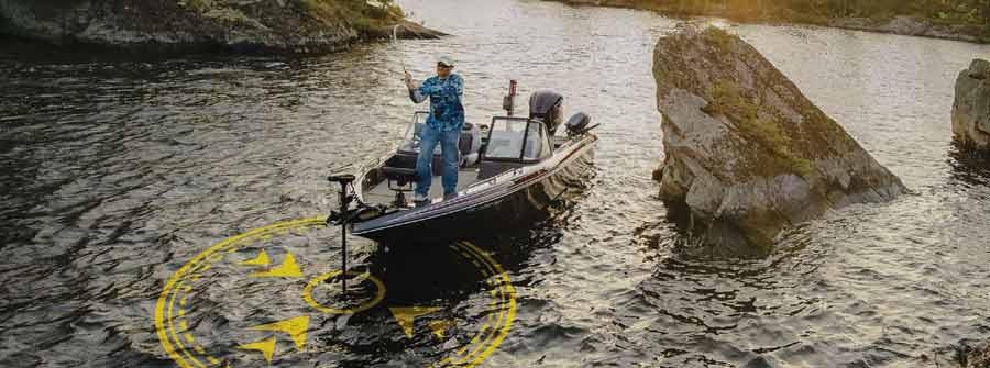 Oft kopiert und nie erreicht: Das Spot-Lock GPS System des Minn Kota Ulterra hält den Boot automatisch auf der Position.