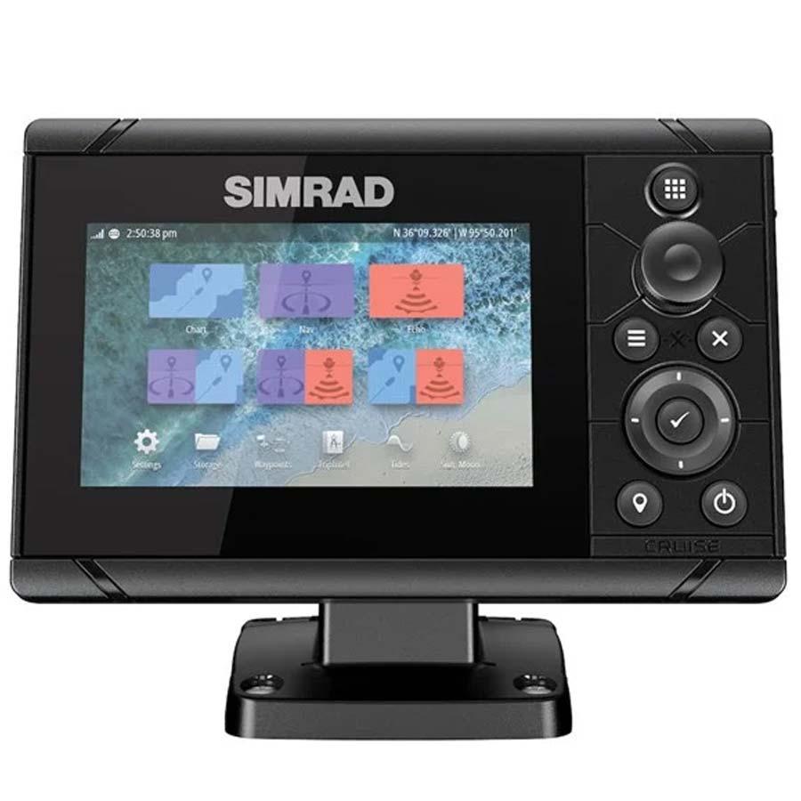 Simrad Cruise 5 Kartenplotter mit 83/200-Geber