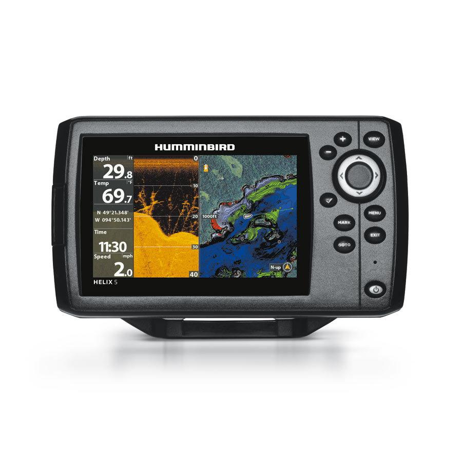 Humminbird Helix 5 CHIRP DI GPS G2 Down Imaging Echolot