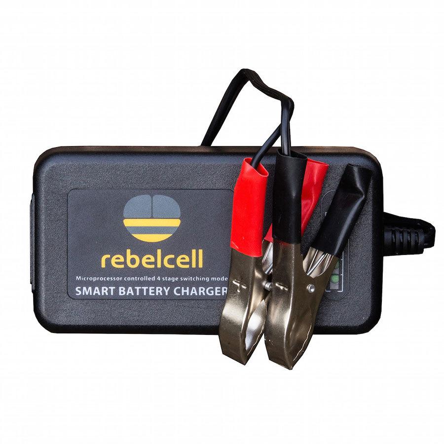 Rebelcell Ladegerät 12.6V4A für Lithium-Ionen-Akkus