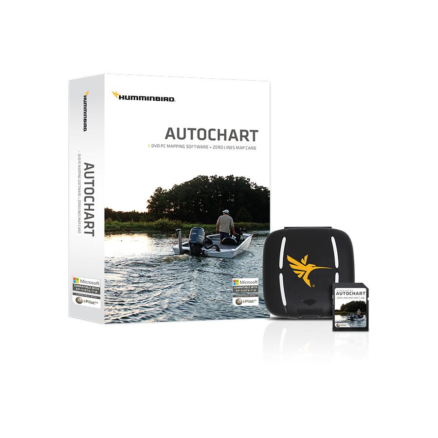 Humminbird AutoChart PC Software inklusive Zero Line SD-Karte