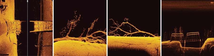 Humminbird MEGA IMAGING auf einem Helix 7 G3 Echolot sorgt für unglaublich realistische Echolotbilder