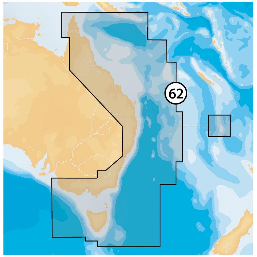 Navionics Platinum PLUS digitale Seekarte