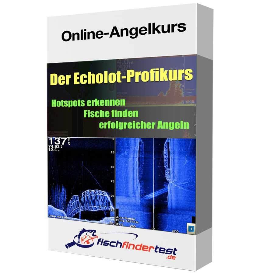 Echolot Profikurs - Onlinekurs für Echolot-Angler