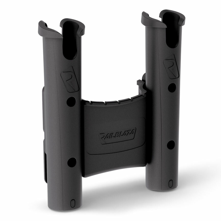 Railblaza RodStow Double - 2x Rutenhalter mit Staufach