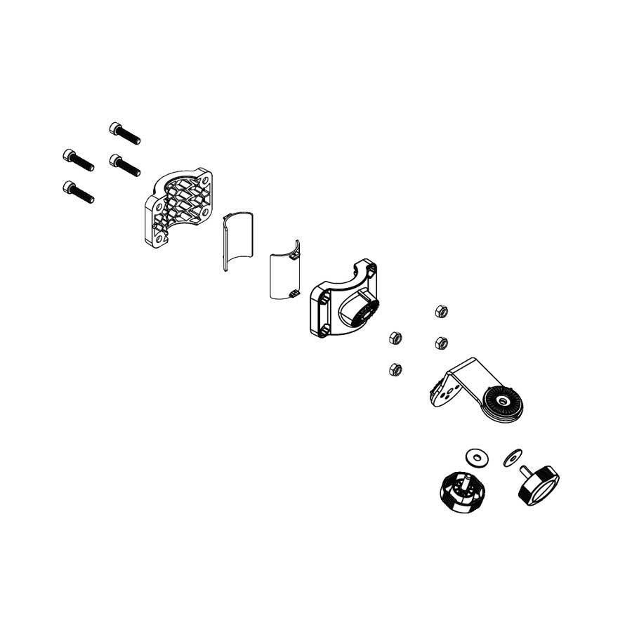 Lowrance ActiveTarget Trolling Motor Shaft Mounting Kit - Schaftmontage