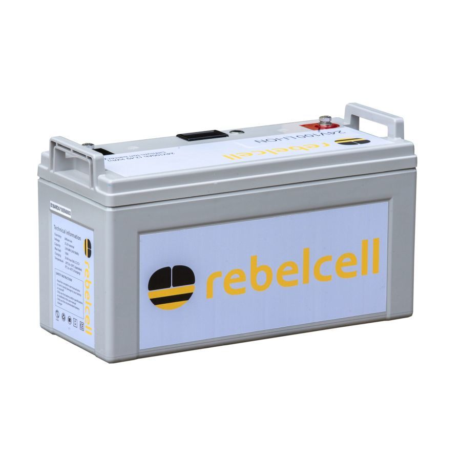 Rebelcell 24V100 Angling Lithium-Ionen-Akku