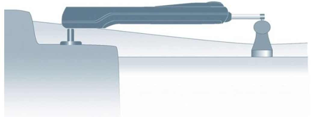So funktioniert ein Pinnenpilot Autopilot für Boote: Das Lenkgestänge wird direkt an die Pinne oder den Tiller bei Motorbooten gehängt.