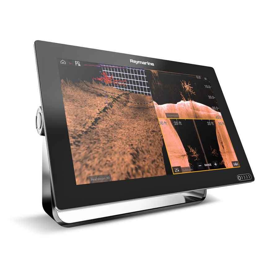 Raymarine Axiom 9 mit RealVision 3D (RV-100 DVS Geber)