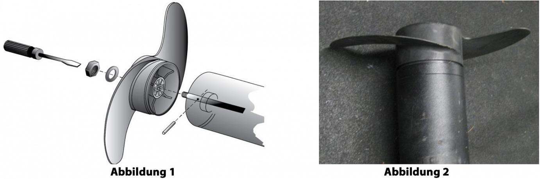 So wechselst du den Propeller von deinem Minn Kota Elektro-Aussenborder.
