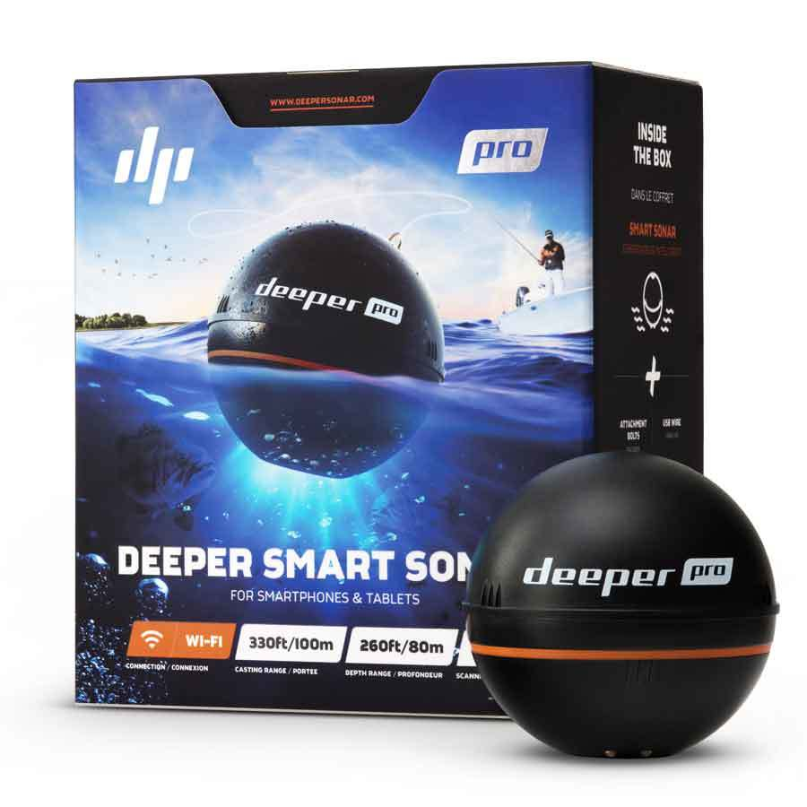 Deeper Smart Sonar Pro - WiFi Fischfinder für Smartphone und Tablet