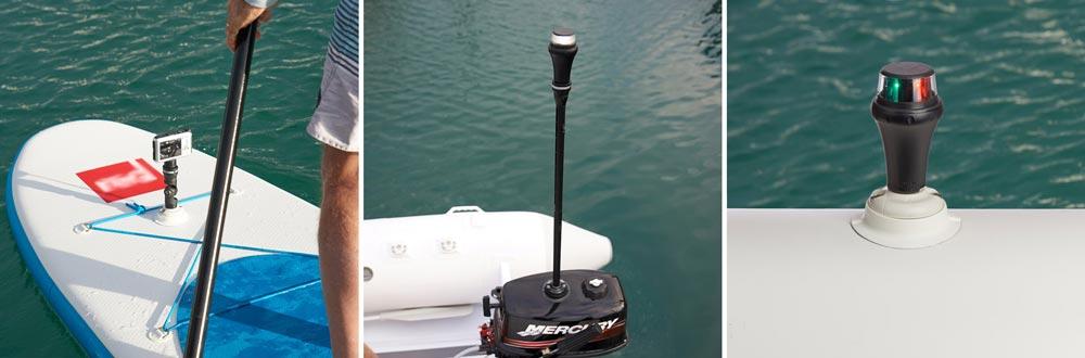 Railblaza QuickPort Halterung sind ideales Zubehör für deine Bootshalterung