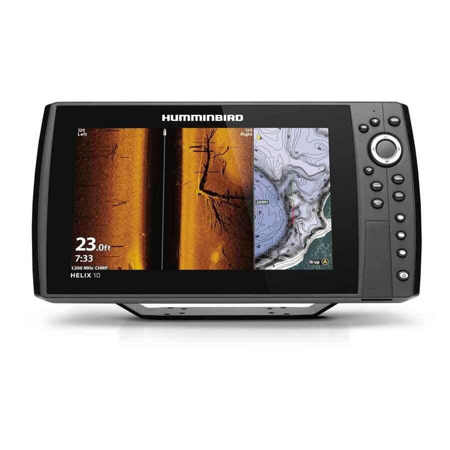 Humminbird Helix 10 CHIRP MEGA SI+ GPS G4N