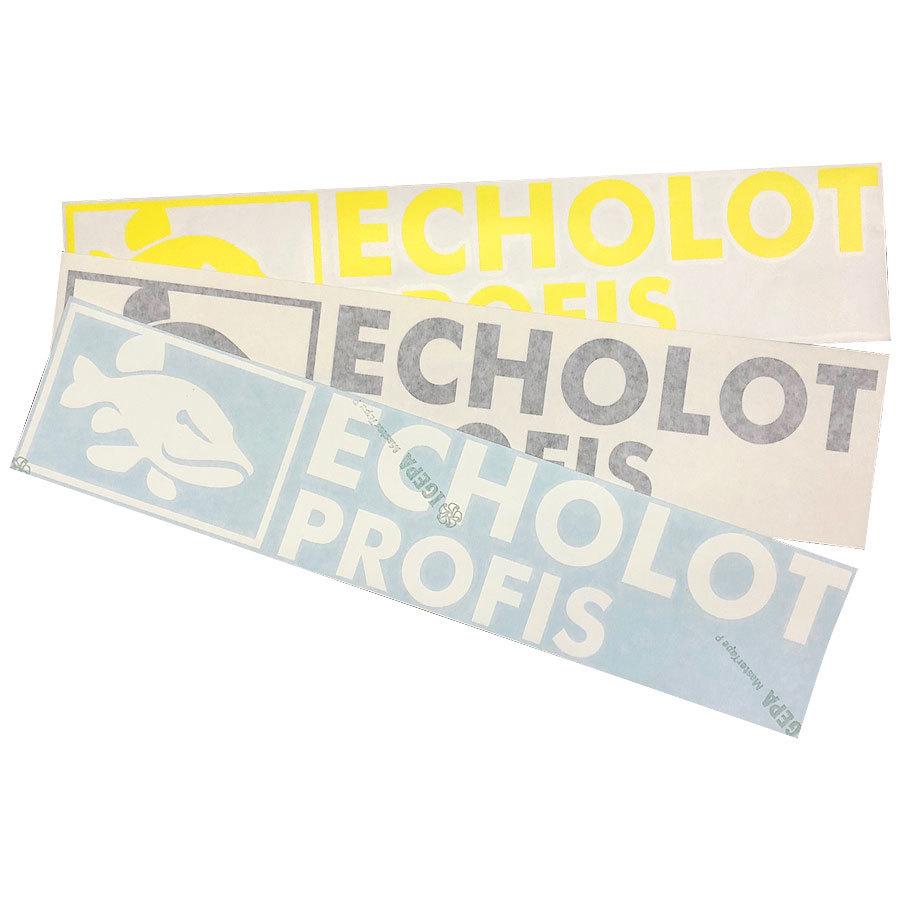 Echolotprofis Bootsaufkleber für Boote, KFZ und Outdoor