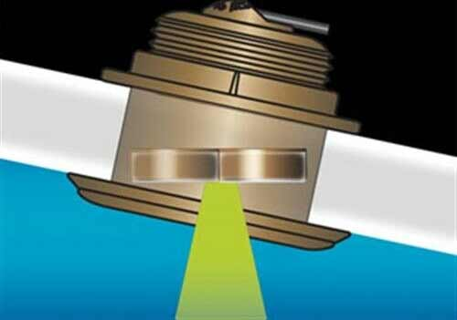 Raymarine Tilted Element Durchbruchgeber sind ideal für Angelboote und schnelle Motorboote sowie Segler