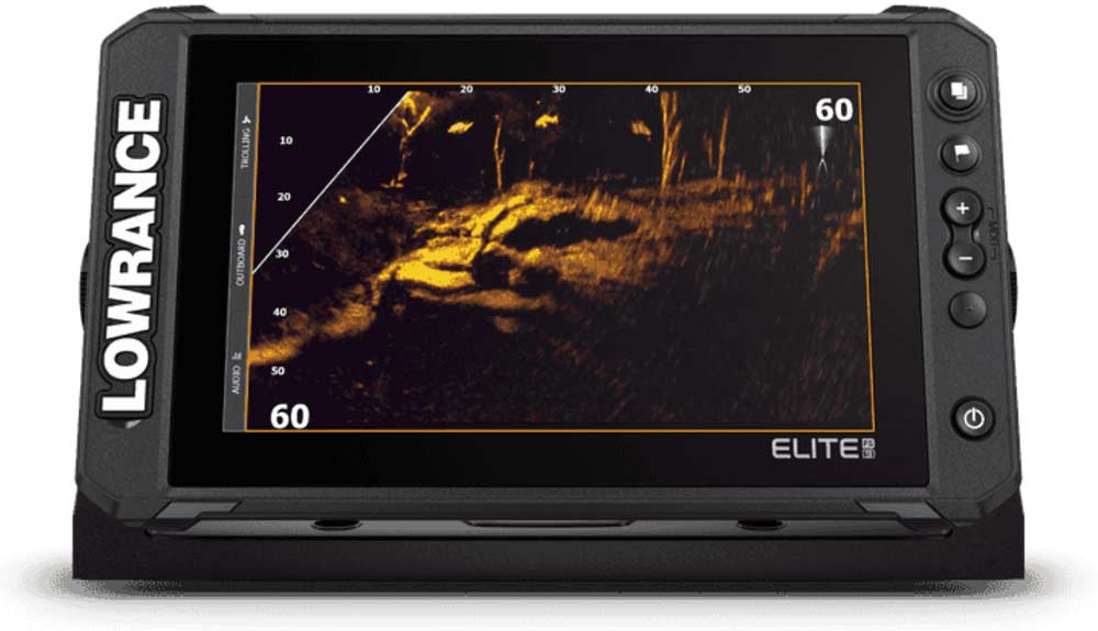 Lowrance Elite FS Echolote sind mit dem genialen Active Target Live Echolot System kompatibel.