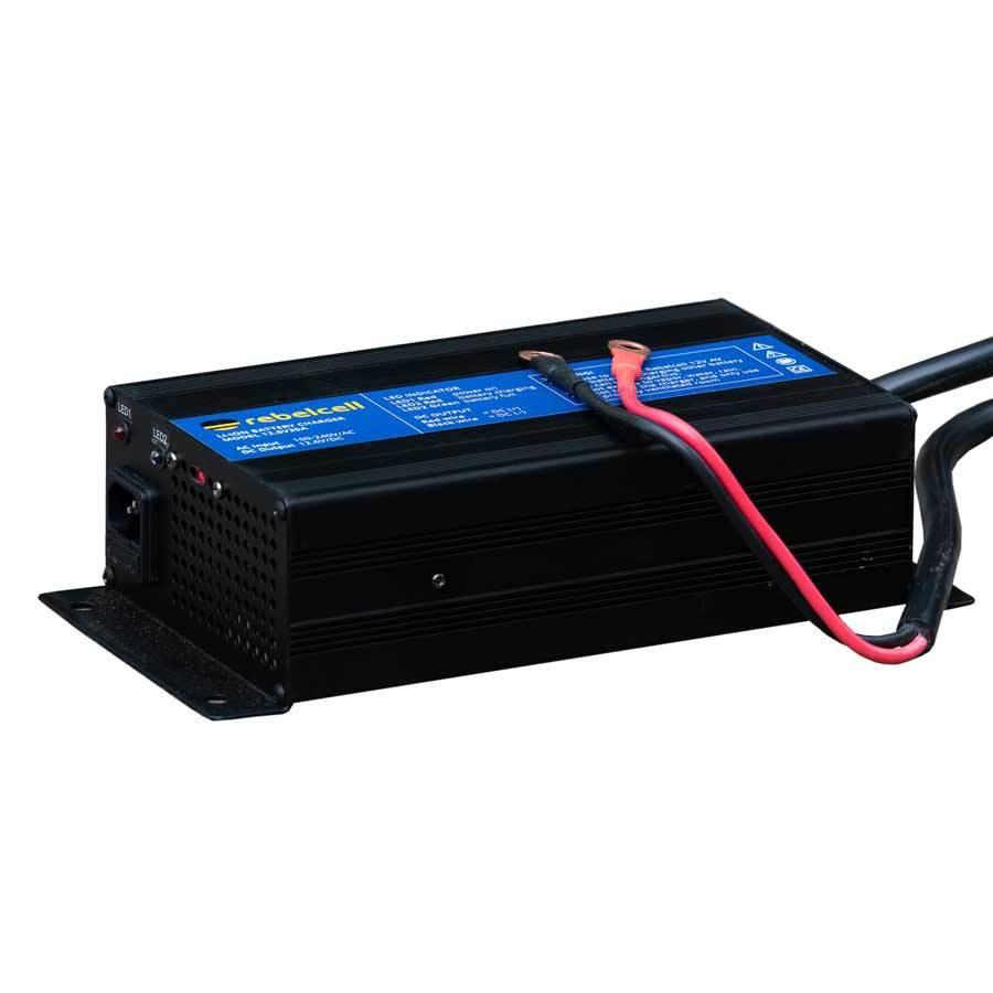 Rebelcell Ladegerät 12.6V35A für 12V140 AV Lithium-Ionen-Akkus
