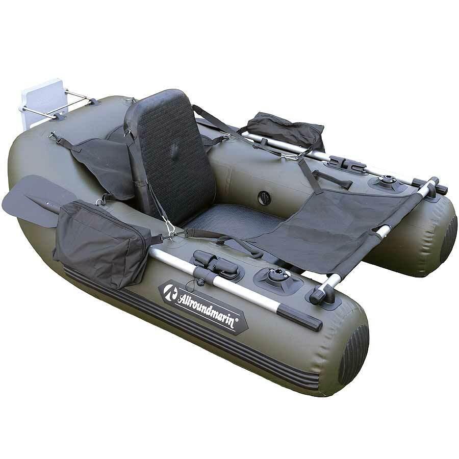 Allroundmarin Belly Boat 170 olivgrün