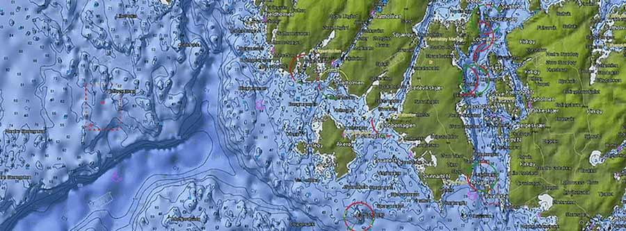 C-MAP Seekarten bieten herausragende Details und sind immer auf dem neusten Stand. Hier findest du alle Informationen rund um digitale Seekarten.
