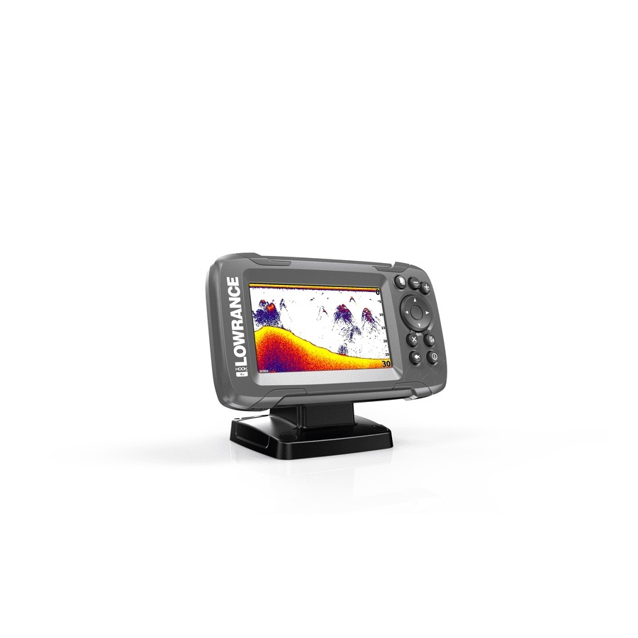 Lowrance HOOK2-4x GPS mit Bullet Echolotgeber