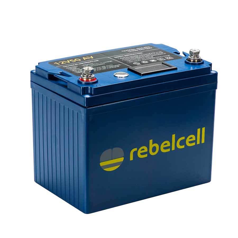 Rebelcell 12V50 AV Lithium-Ionen-Akku