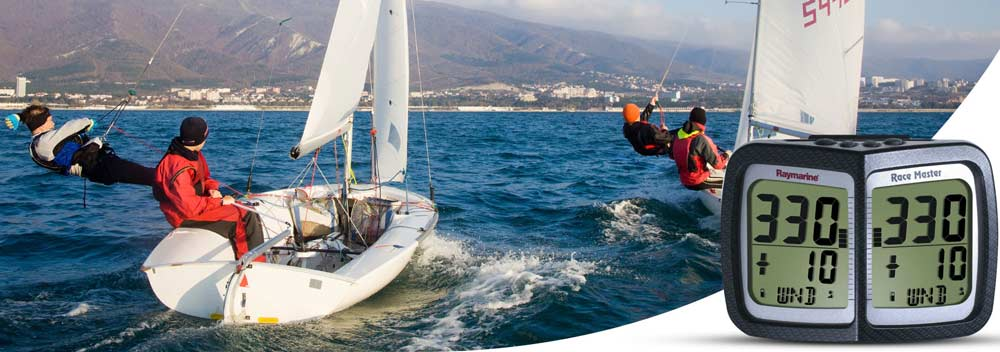 Raymarine Wireless Range Marine Instrumente sind perfekt für Segelboote. Vor allem Regattasegler wissen die Zuverlässigkeit zu schätzen.