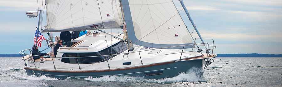 Perfekt fuer dein Segelboot: Raymarine HD Colour Dadomantennen.
